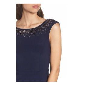 f84c39763965 Xscape Dresses | New Beaded Ruffle Back Jersey Trumpet Gown | Poshmark